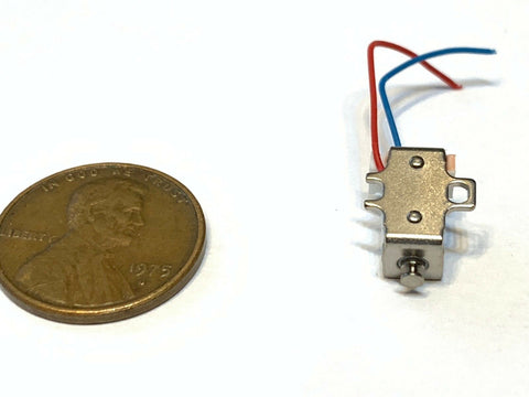 10 Pieces White Electric mini Electromagnet small Solenoid Pull Micro push A15