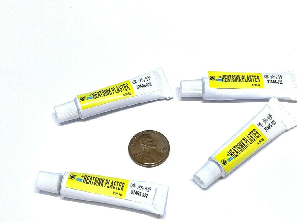 4 pieces STARS-922 Thermal Grease CPU Heat Sink Plaster Paste compound C22