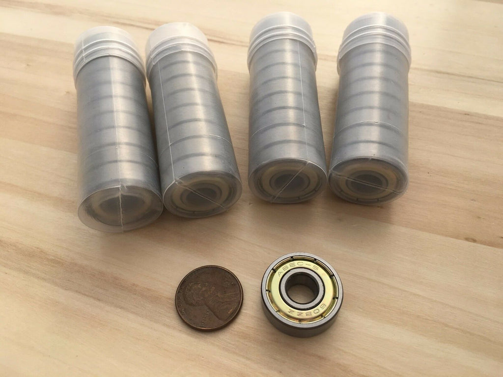 40 Pieces 608ZZ skateboard Double Metal Shielded Ball Bearing 8mm 22mm 7mm C37