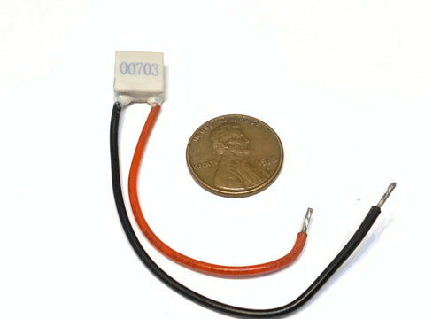 1 Piece TEC1-00703 10mm Peltier Thermoelectric Cooler Elemente mini 10 x 10  C22