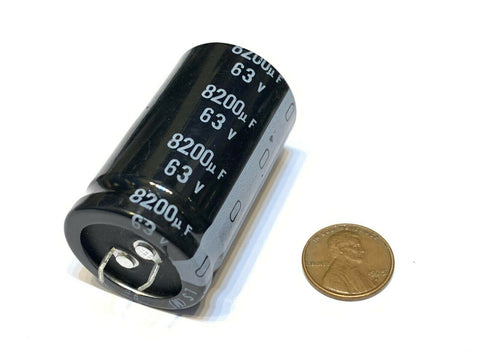 1 Pieces 8200uf 63v LS 30x50mm super capacitor 63V8200uF Snap-in PSU  A19