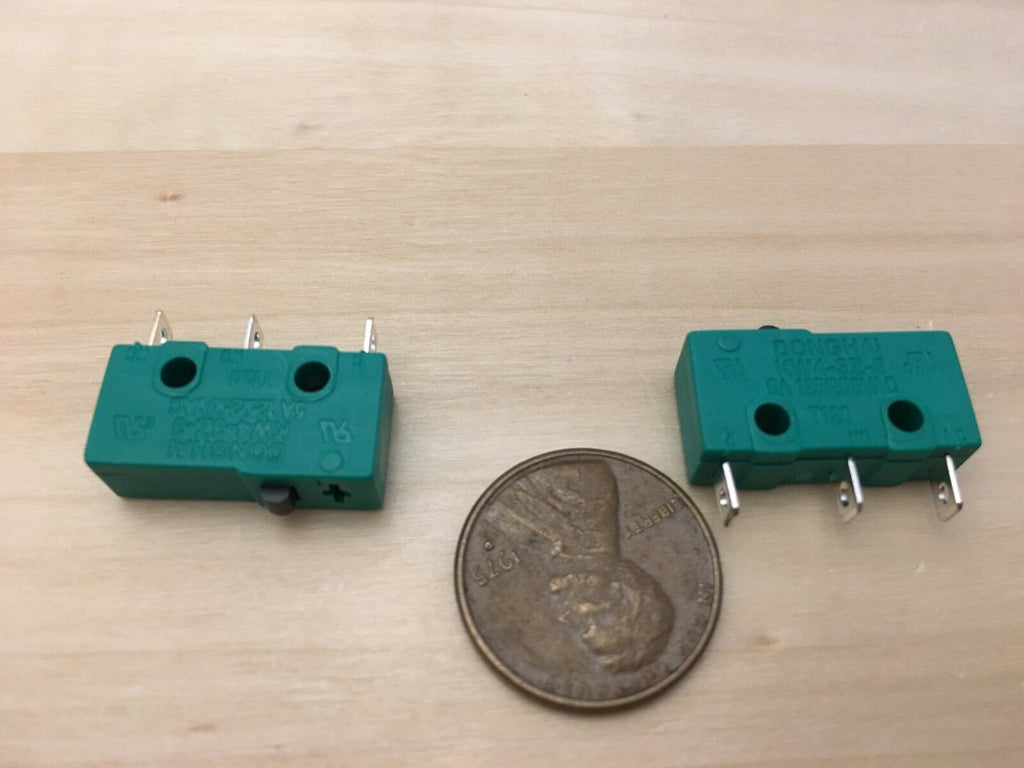 2 Pieces ( NO lever ) Green kw4-3z-3 N/C N/O normally Micro Limit Switch 5A C26