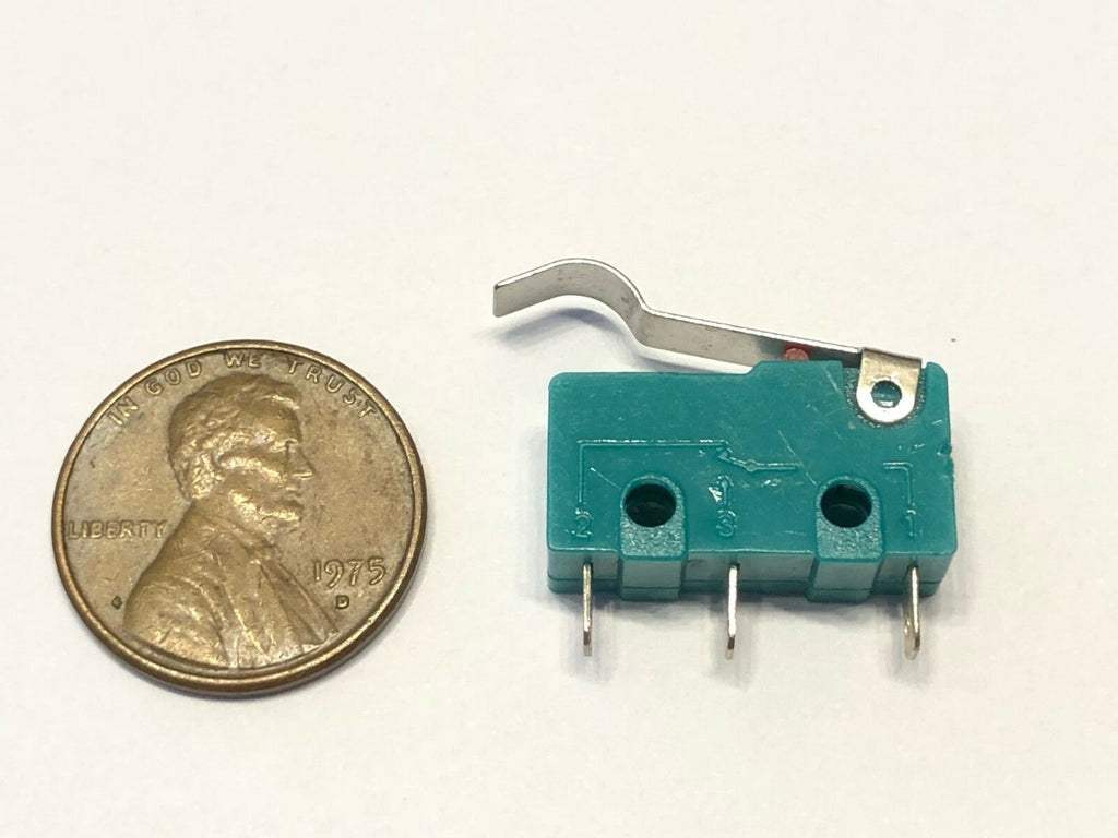 1 Piece Green hump N/C N/O normally Micro Limit Switch Lever 125v 3a amp 5A c37