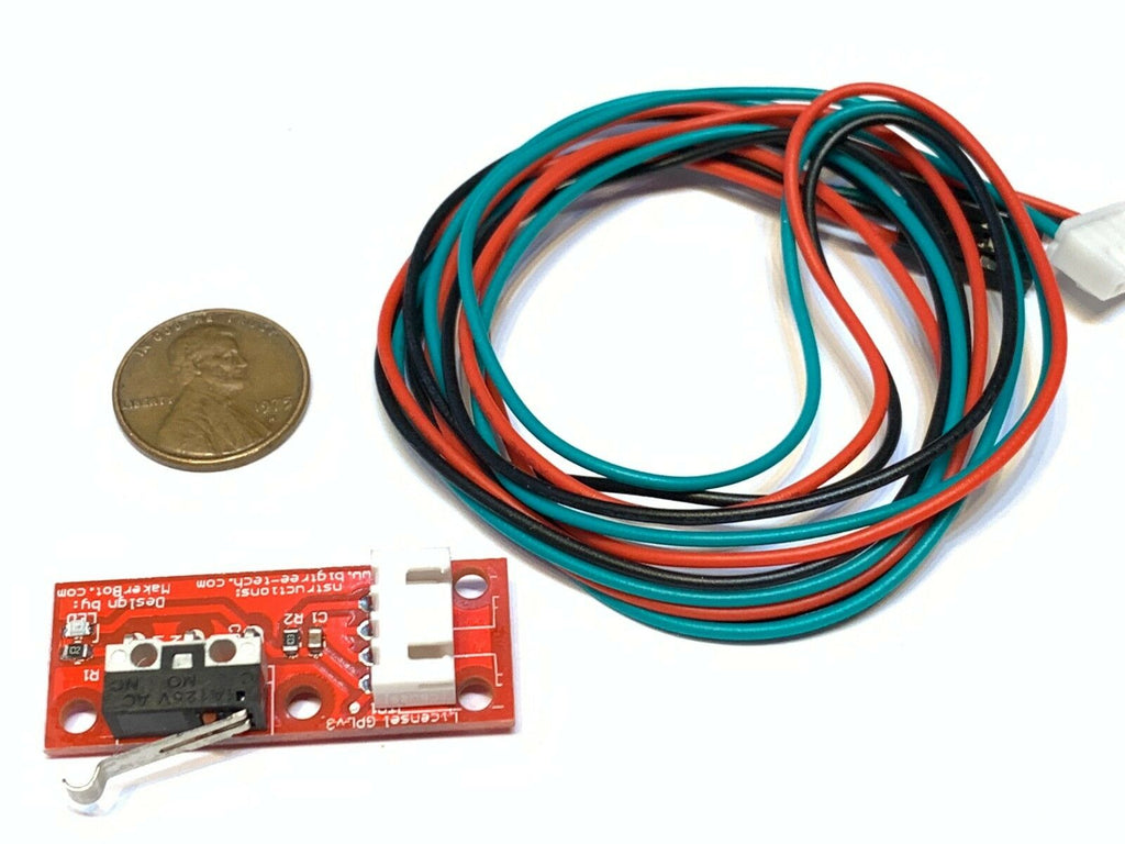 1 Piece Endstop 3d printer flashforge cnc RAMPS 1.4 Micro Limit Switch Lever A6