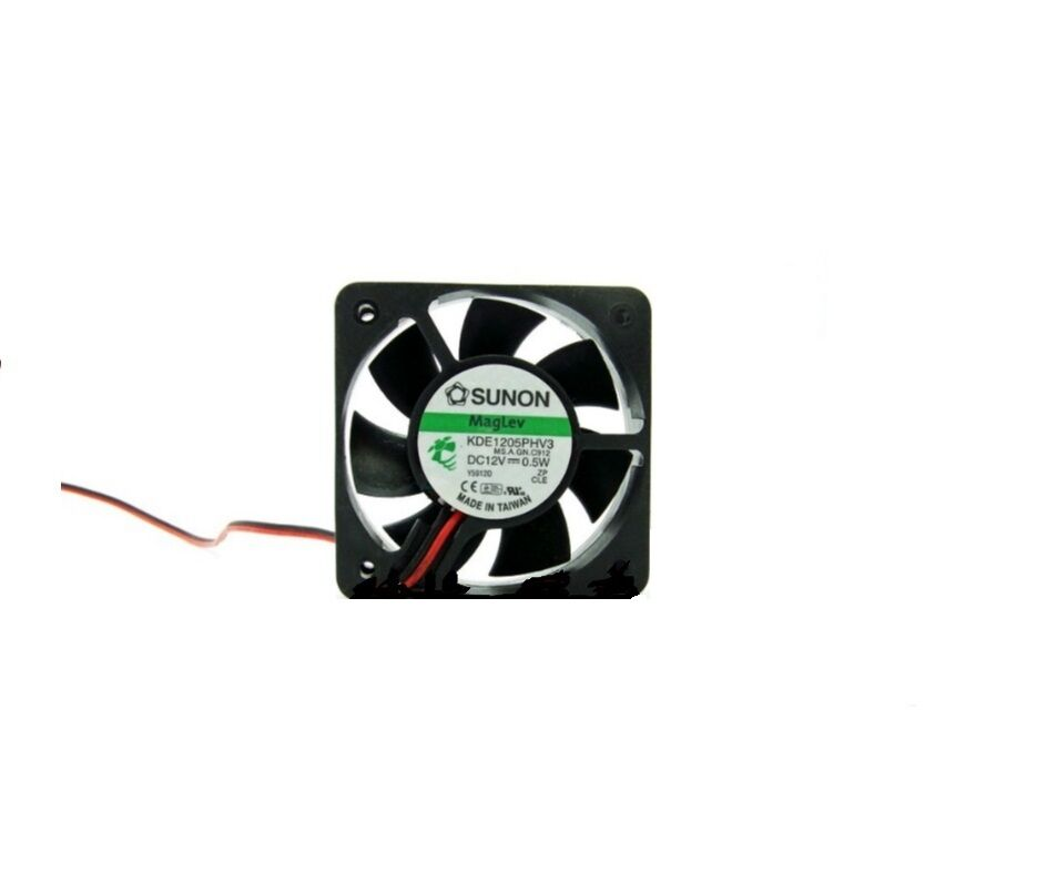 1 Piece SMALL 5015 50MM SUNON MAGLEV 0.5W 12V DC FAN BLOWER KDE1205PHV3  c17