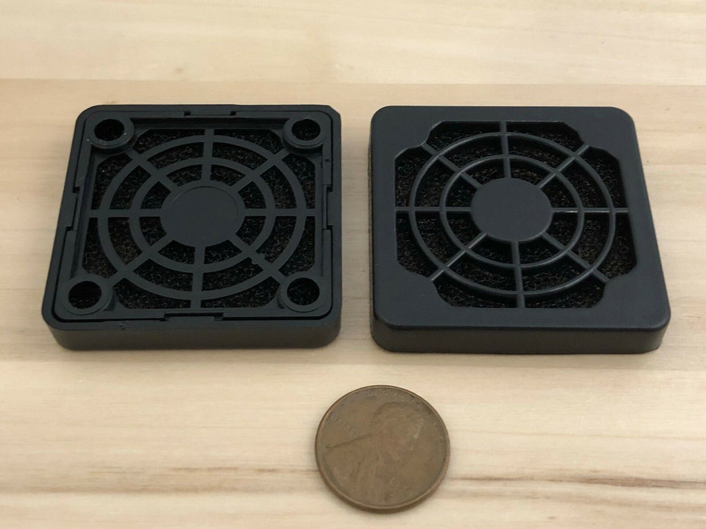 2 Pieces 40mm filter dust cover proof DC 4cm Cooling Heatsink guard Fan Fans C28
