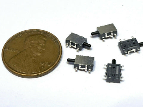 5 Pieces Limit Switch 2 inch Lever n//c n//o arm ac 3 pin mini long 5 amp dc C4 endlessparts