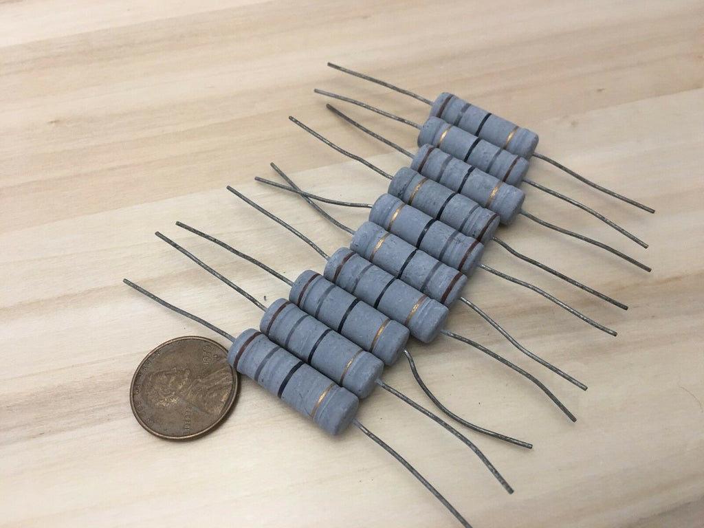 10 Pieces -- 5 Watt 18 ohm 18ohm Metal Oxide Film Resistor 5W 700V 5% A12