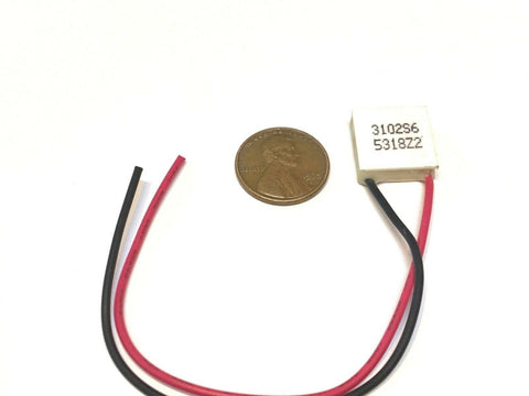 1 Piece TES1-03102 15mm Peltier Thermoelectric Cooler Elemente mini 15x15  B27