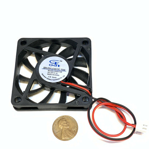 1 Piece 24v 60mm Gdstime DC 2P 6010 6cm 60x10mm Cooling Exhaust Fan c26