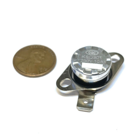 4 Pieces N//C 55ºC 131ºF normally closed Thermal  Thermostat switch KSD301 C26