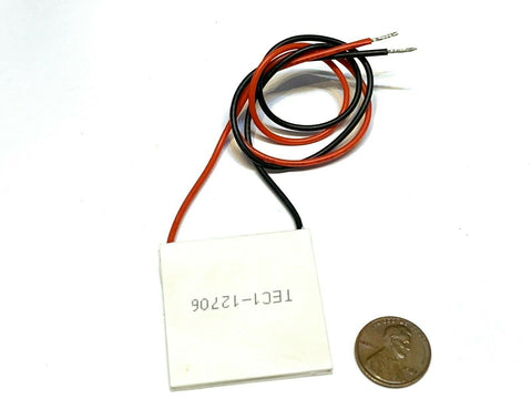 1 Piece TEC1-12706 Heatsink Thermoelectric Cooler Cooling Peltier 12V 60W B5