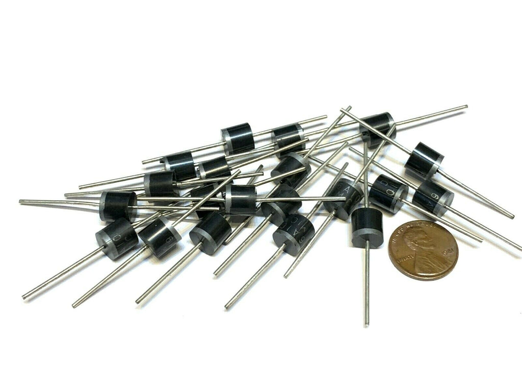 18 Pieces Switching Schottky Rectifier Diode 1000v 6a 20pcs 6 amp axial 1kv B13