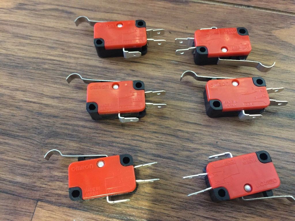6 Pieces  Micro Limit Switch with Lever 15A 125/250VAC c16