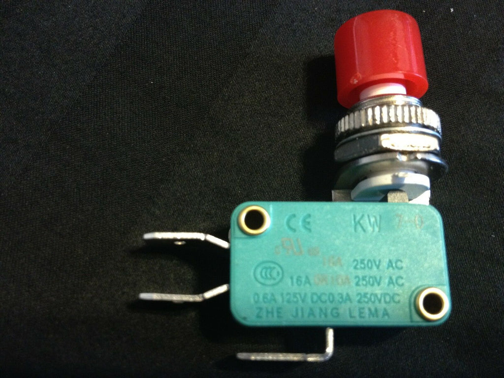 1 Piece Micro Switch ON/OFF 3P w/ Lever Big Red Cap KWD 8