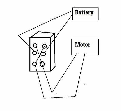 1 DPDT Momentary-Off-Momentary ON/OFF/ON Toggle Switches