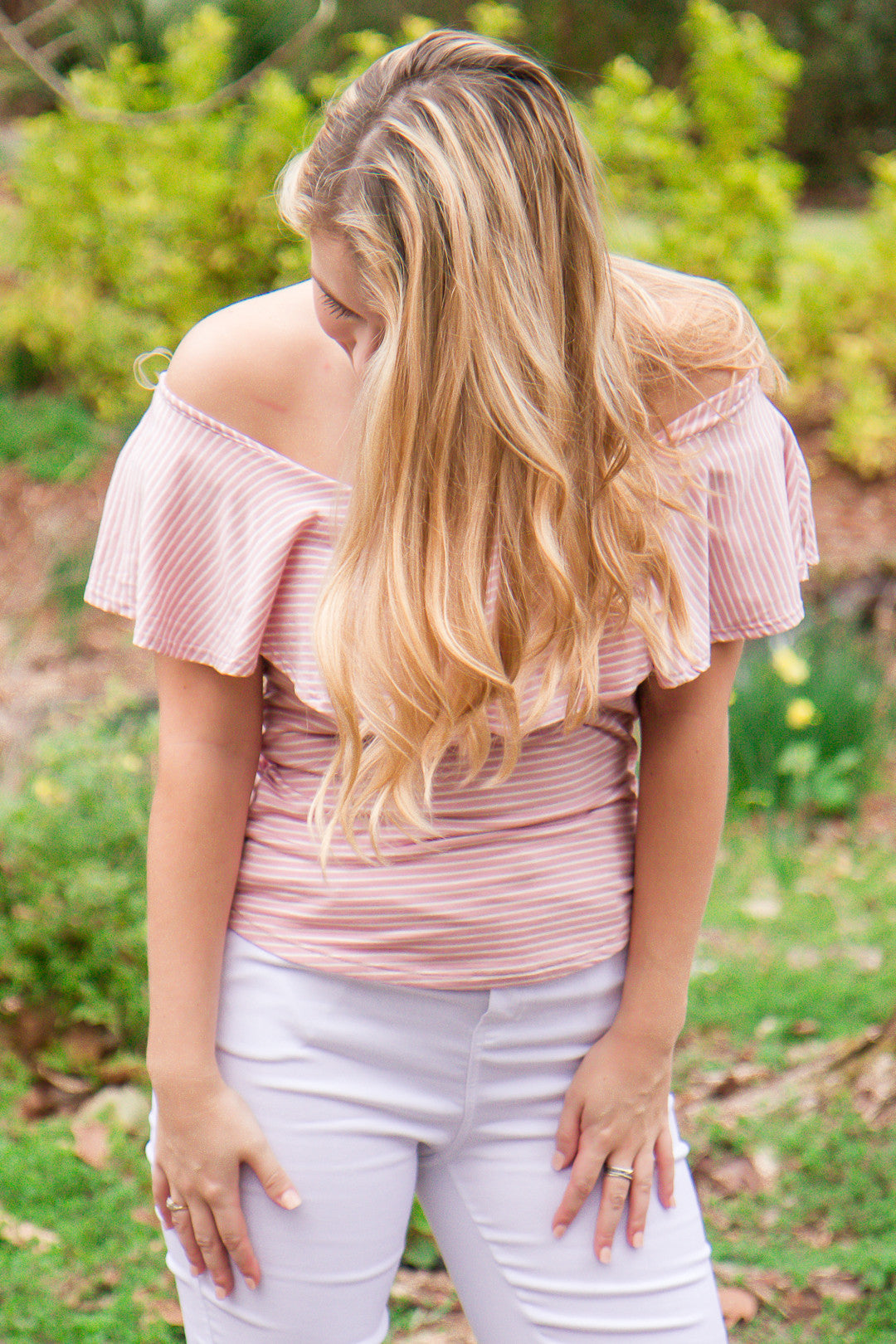 All the Frills Top