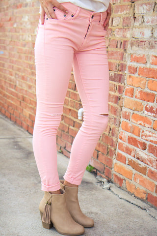 Hollywood Crush Pants - Pink