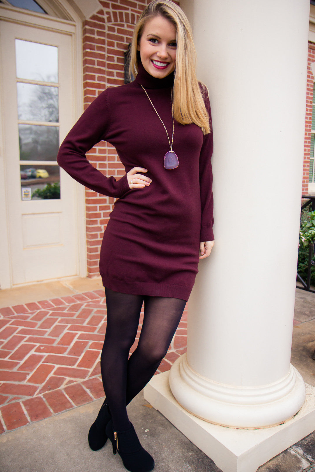 Bundled Up Sweater Dress
