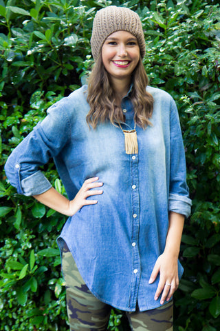 Cross Country Denim Tunic - Final Sale