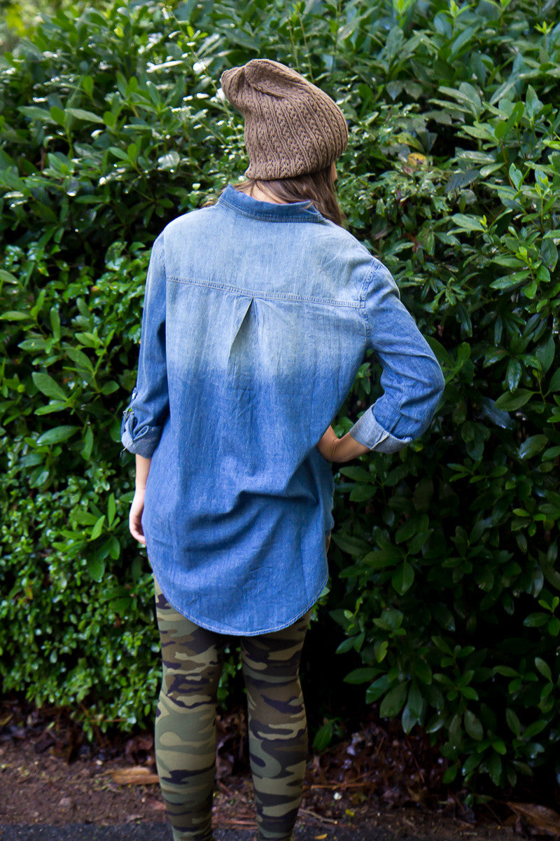 Cross Country Denim Tunic