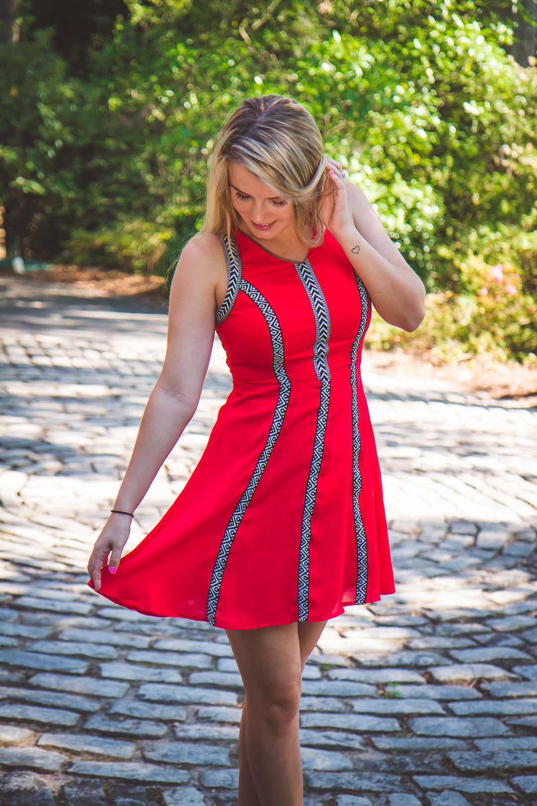Forever Young Dress - Red