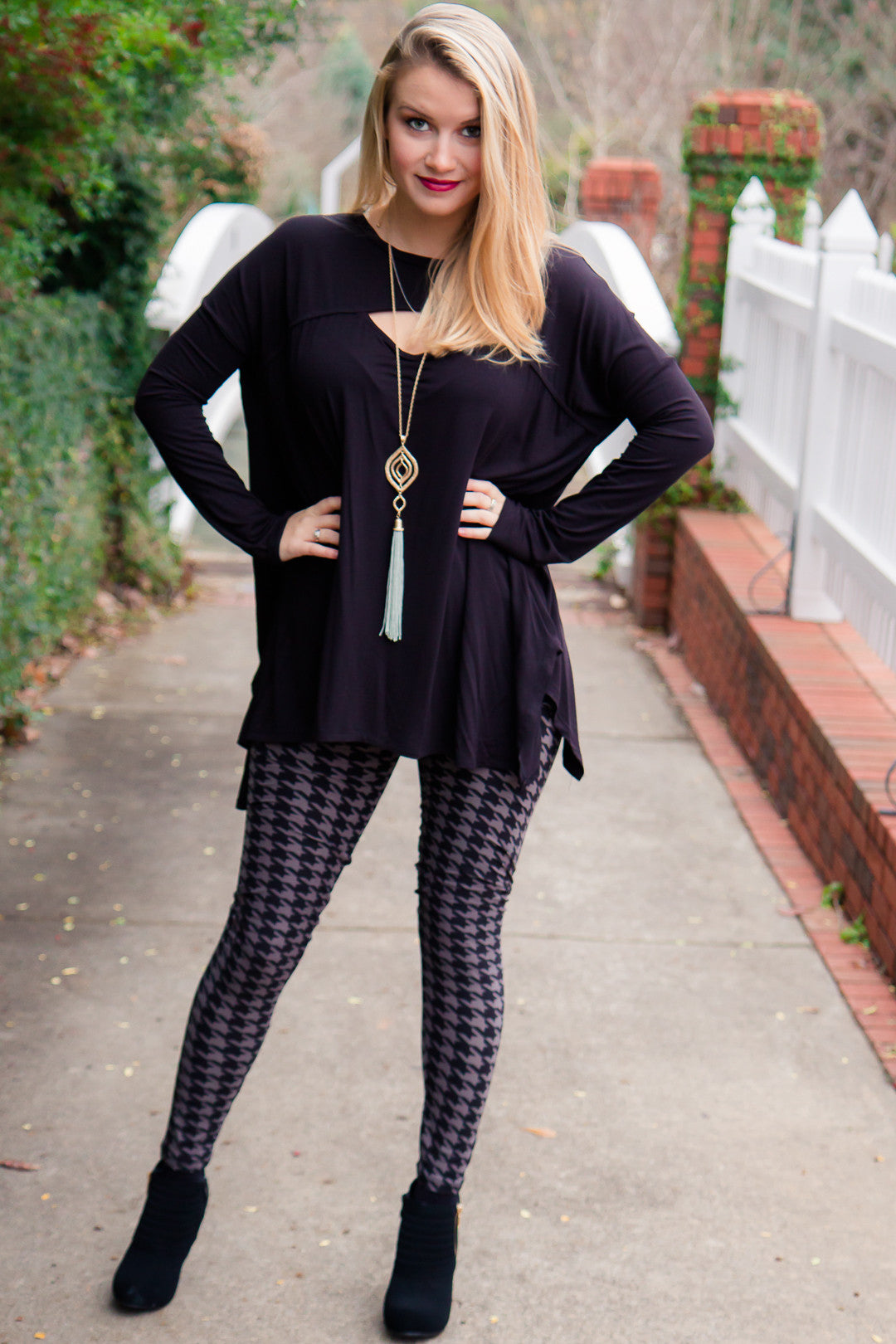 Gray Days Leggings