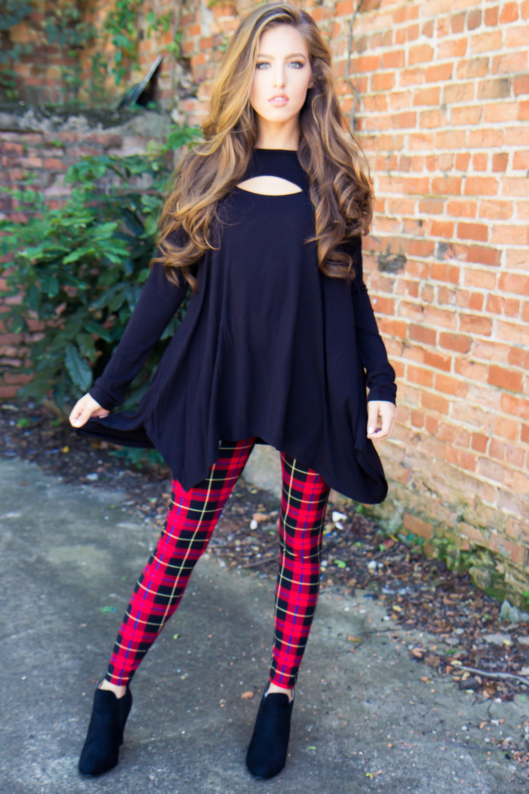 Mad for Plaid Leggings - Final Sale