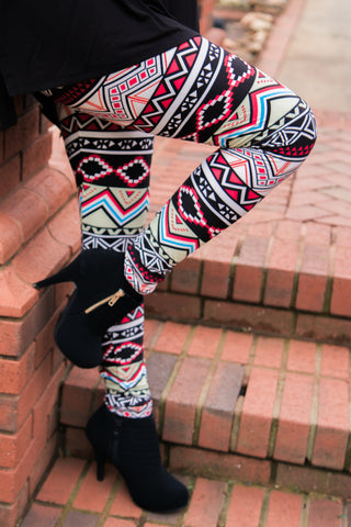 Mixed Up Leggings