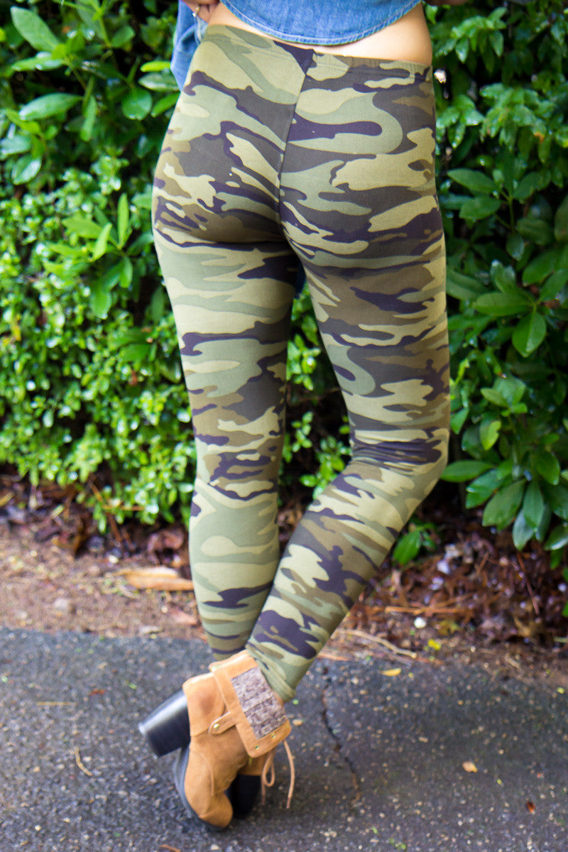 Now You See Me Camo Leggings
