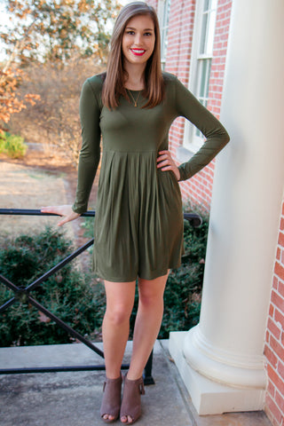 Olive It Dress - Final Sale