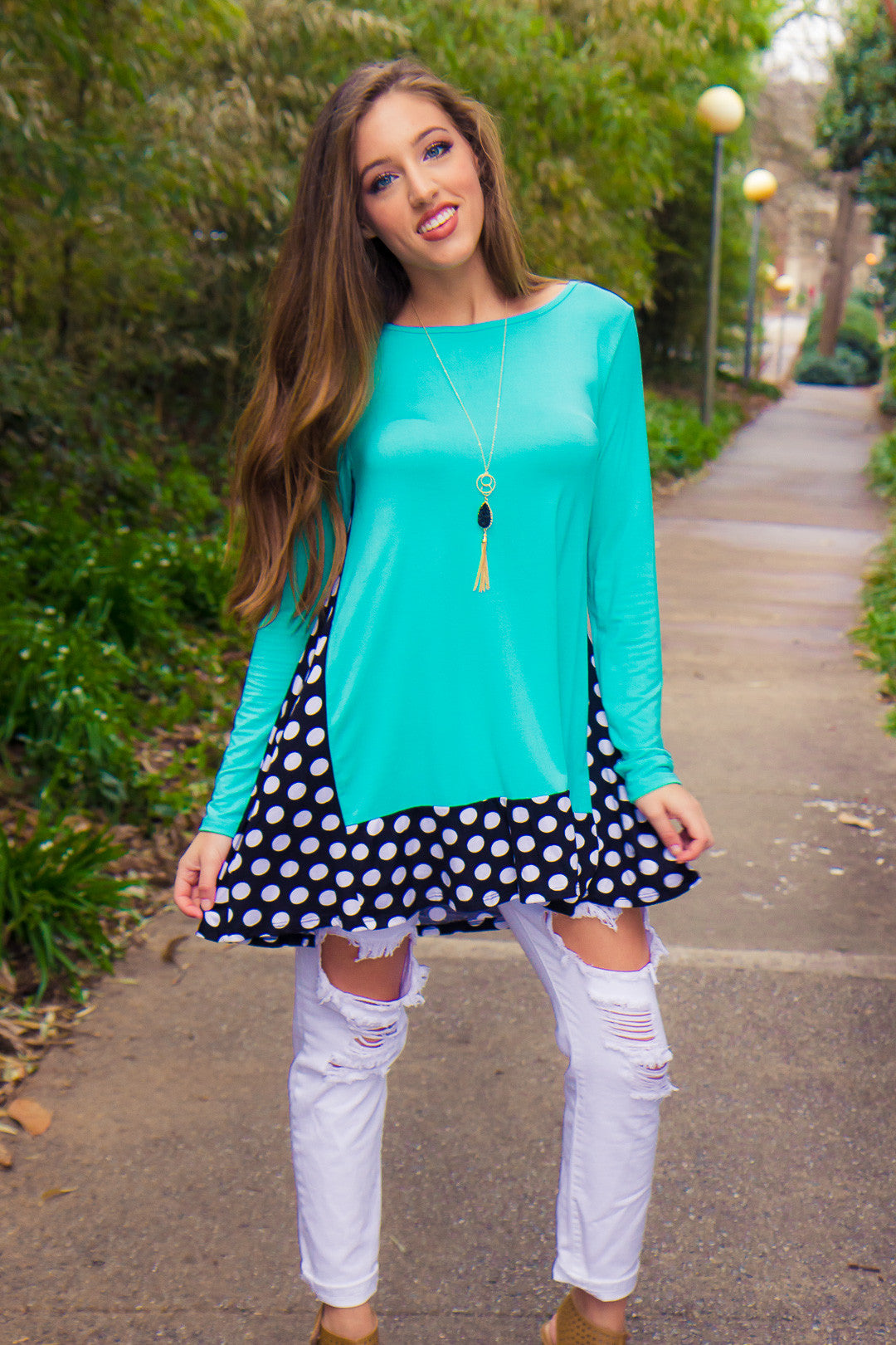 On The Dot Tunic