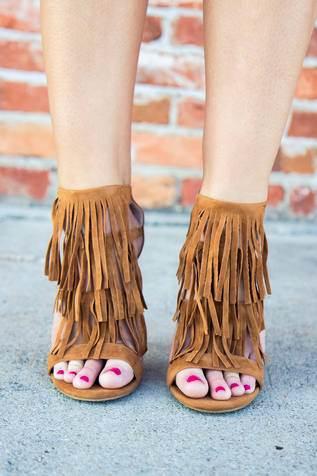 On The Fringe Heels - Final Sale