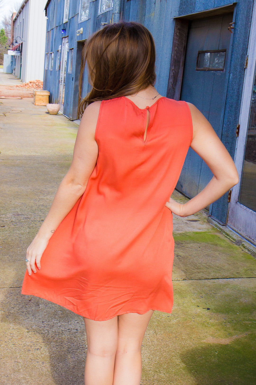 Orange Crush Dress - Final Sale