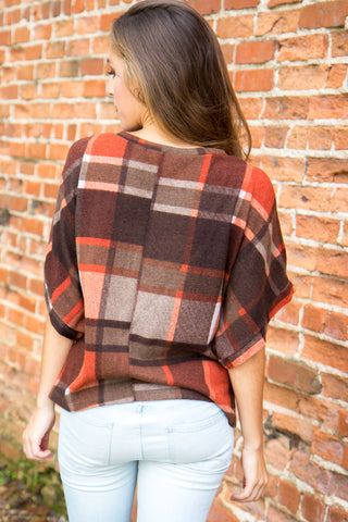 Perfectly Plaid Top - Final Sale