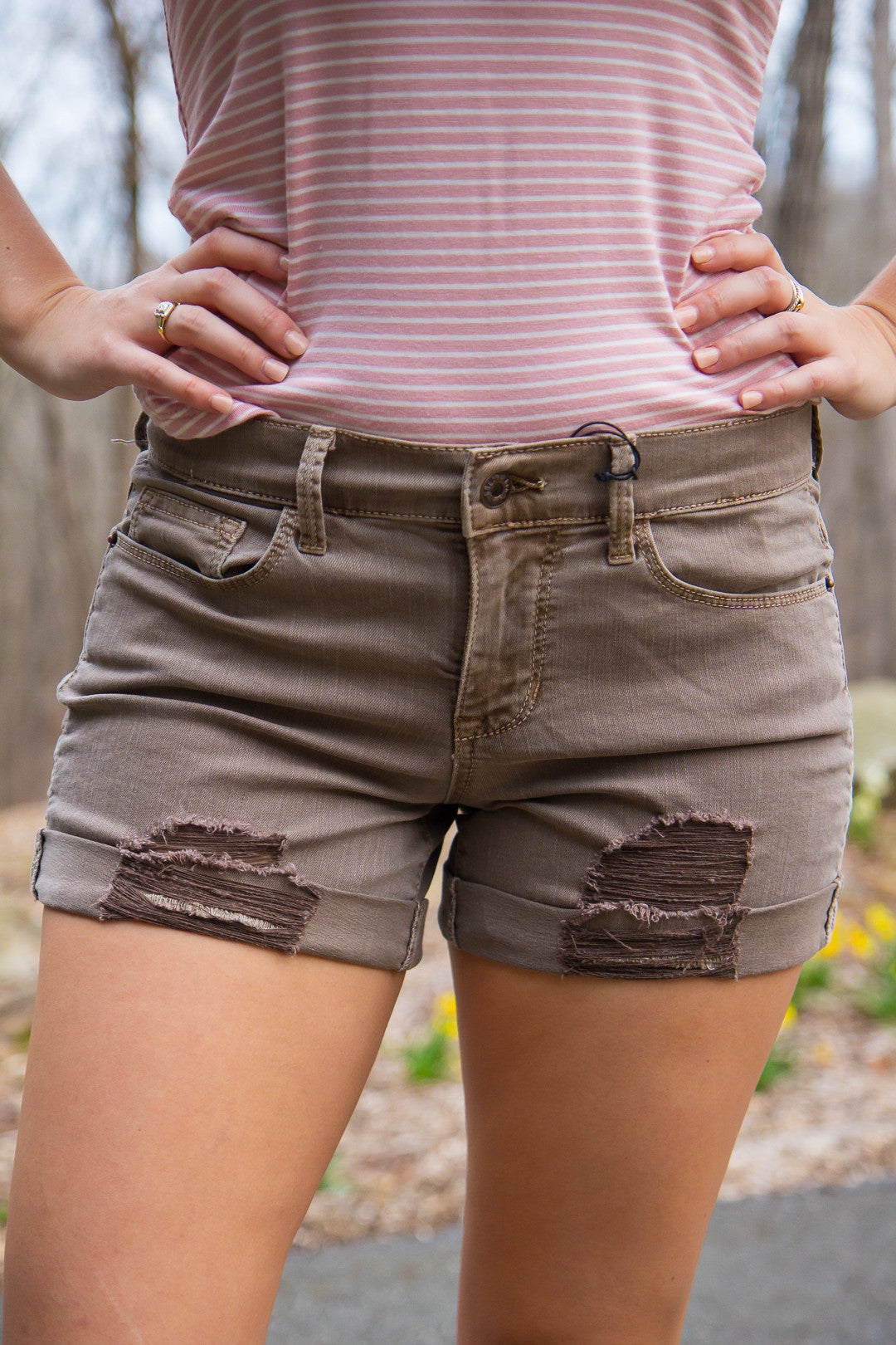Perfectly Worn Shorts
