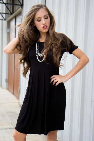 Ready For Anything Dress - Black