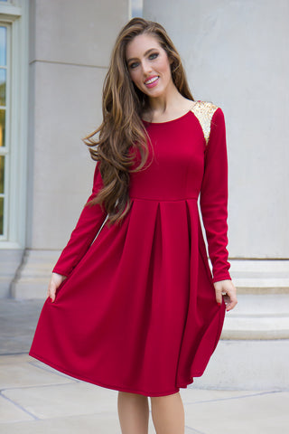 Perfectly Polished Dress - Final Sale