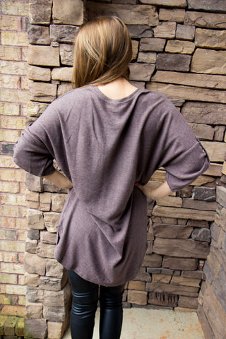Softest Top - Mocha - Final Sale