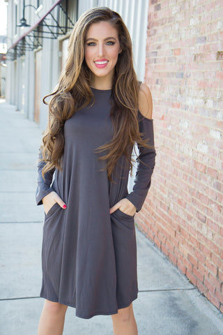 Shall We Chambray Dress - Final Sale