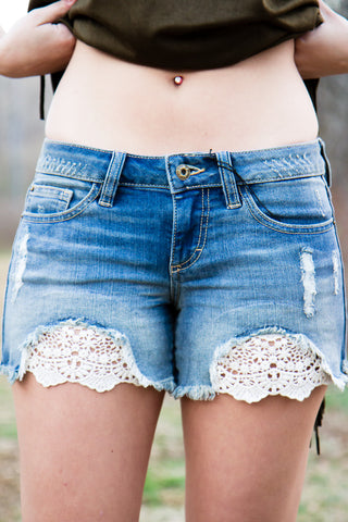 Sweet in Lace Shorts