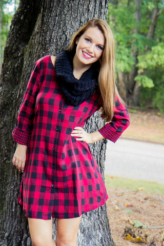 Winter Retreat Dress