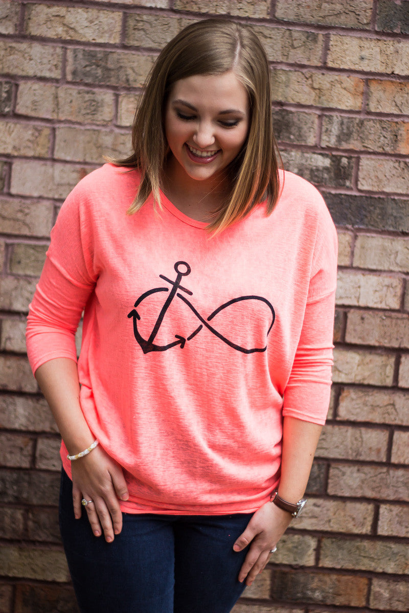 Anchored To You Forever Top