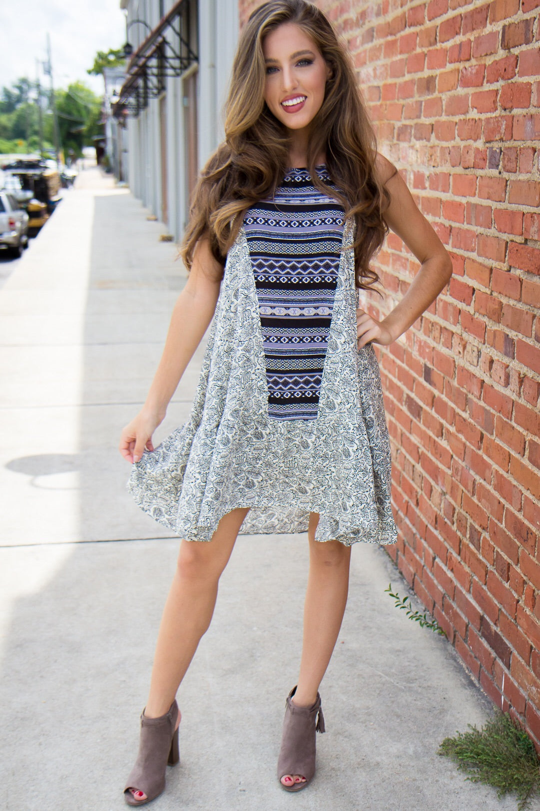 Totally Tribal Dress - Final Sale