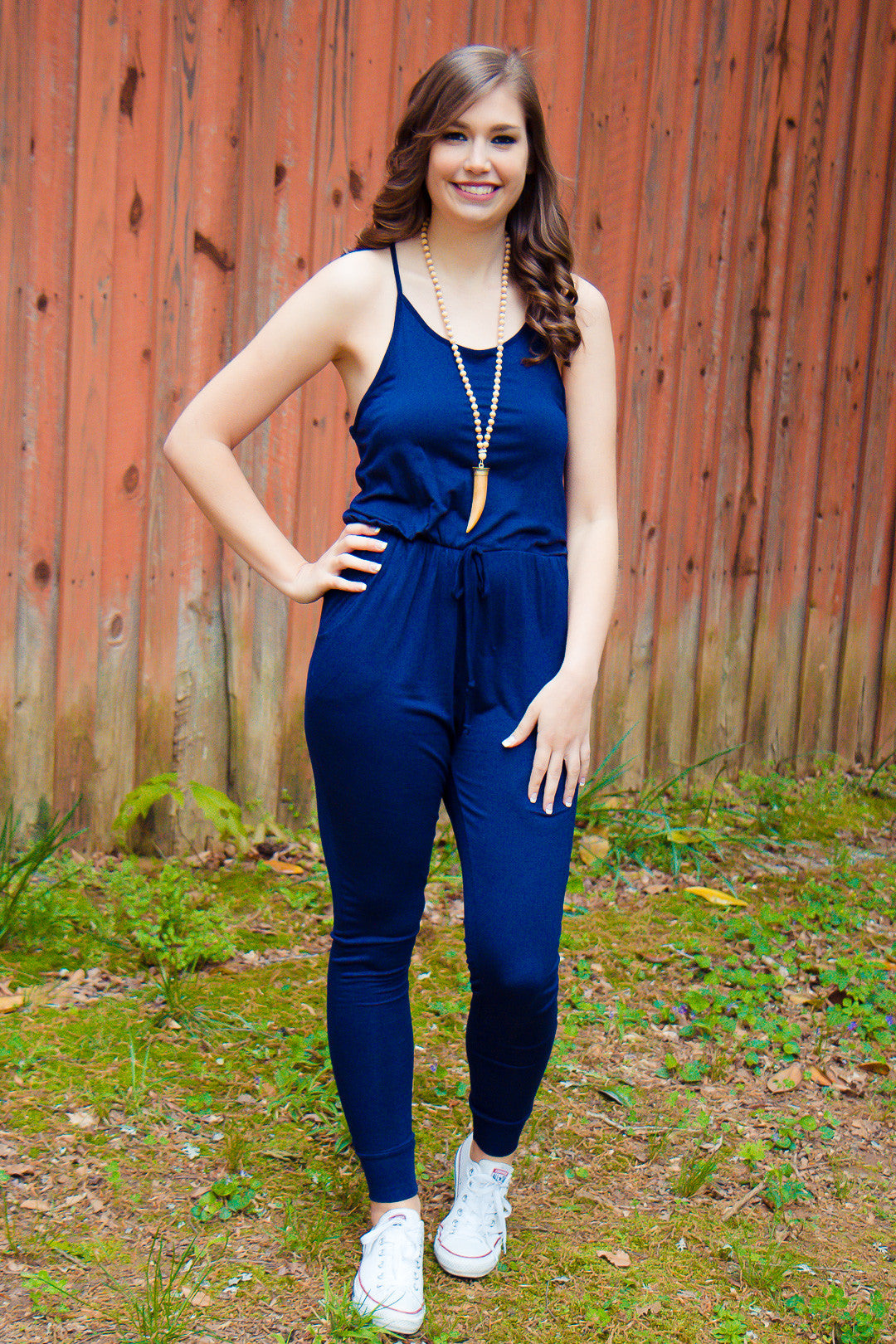 Just Relax Jumpsuit - Blue