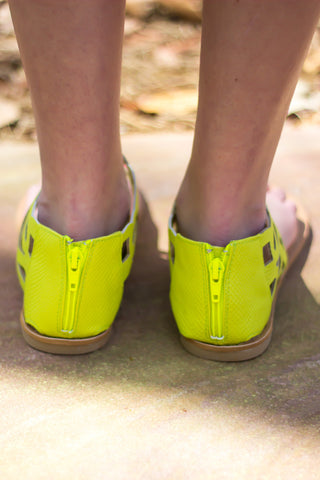 Lemon Lime Love Sandals