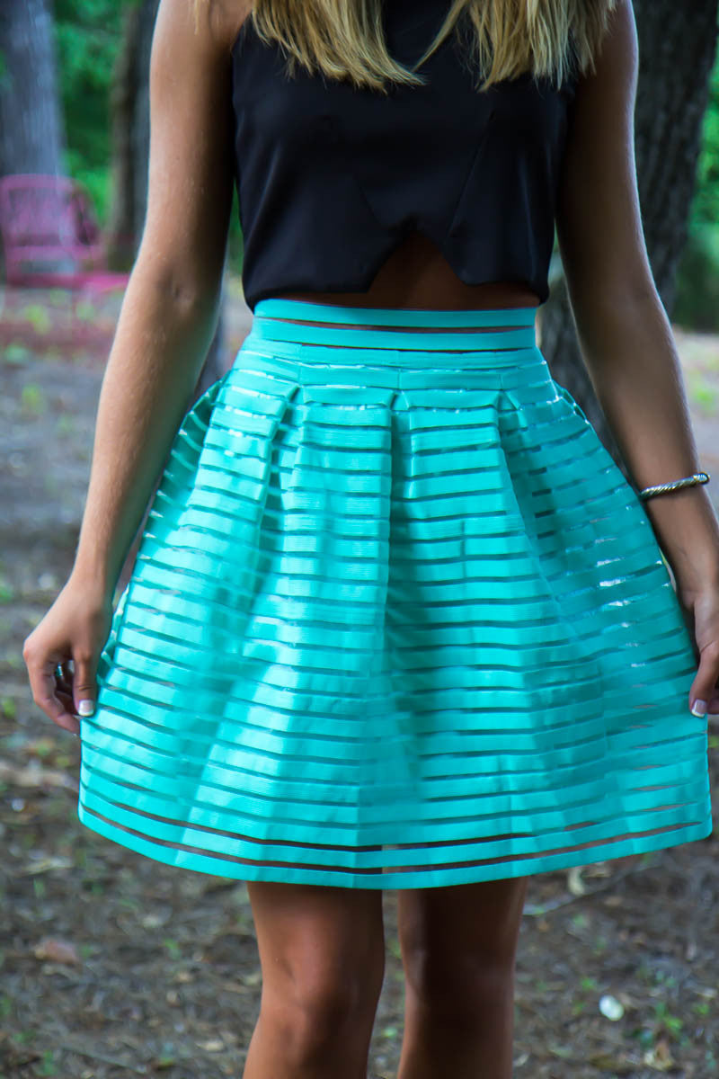 Mermaids and Mint Skirt