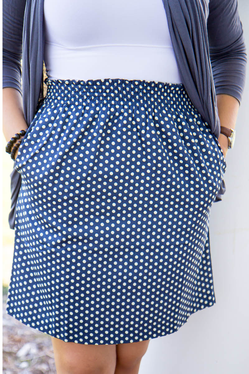 What A Wonderful World Skirt - Final Sale