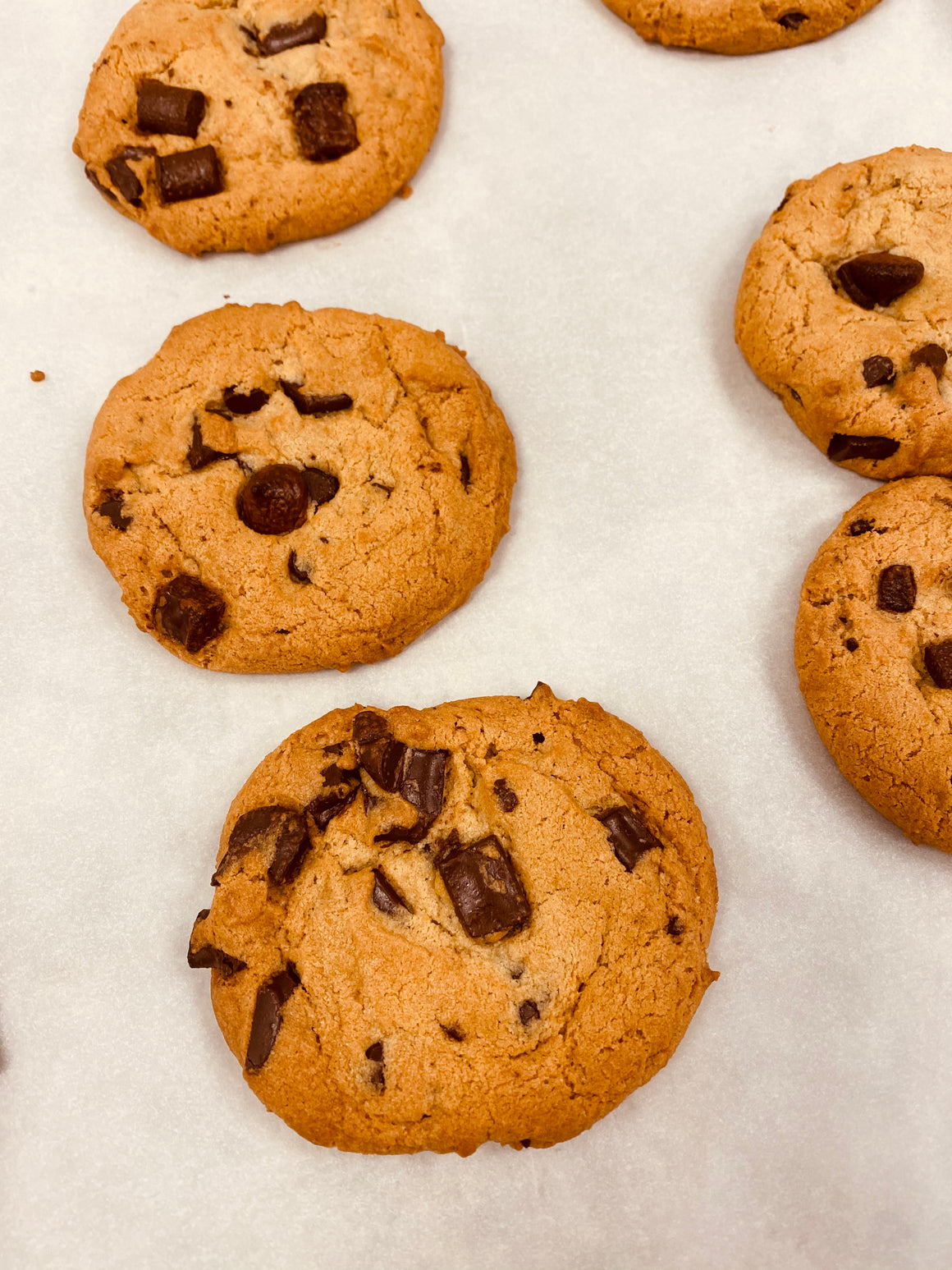 Brown Butter Chocolate Chunk Cookie