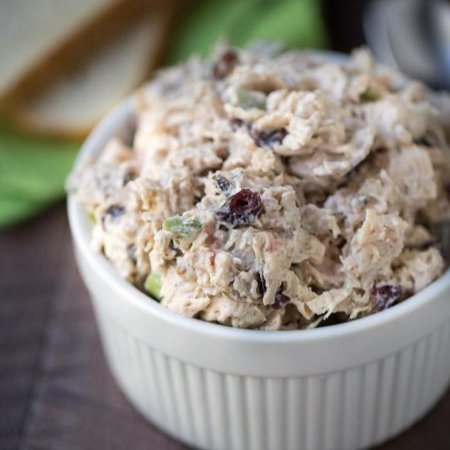 Mimi's Favorite Chicken Salad w/Greek Yogurt  (GF)